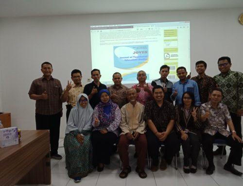 Workshop Penulisan Artikel Ilmiah Magister Pendidikan Vokasi